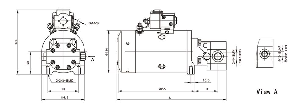 平面电机 结构图